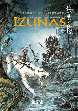 Die Legende der scharlachroten Wolken – Izunas. Band 2 von Letizia,  Bruno, Lupattelli,  Carita, Tenuta,  Saverio