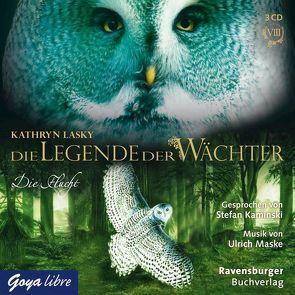 Die Legende der Wächter 8: Die Flucht von Kaminski,  Stefan, Lasky,  Kathryn