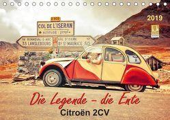 Die Legende – die Ente, Citroën 2CV (Tischkalender 2019 DIN A5 quer)