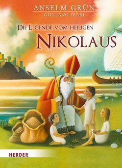 Die Legende vom heiligen Nikolaus von Ferri,  Giuliano, Grün,  Anselm