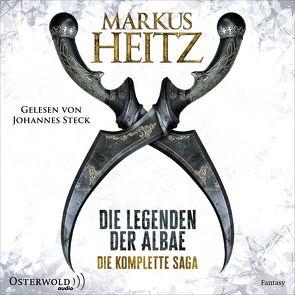 Die Legenden der Albae. Die komplette Saga (Die Legenden der Albae) von Heitz,  Markus, Steck,  Johannes