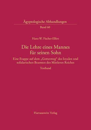 Die Lehre eines Mannes für seinen Sohn von Fischer-Elfert,  Hans-W.