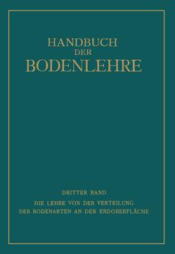 Die Lehre von der Verteilung der Bodenarten an der Erdoberfläche von Blanck,  Edwin, Giesecke,  Fritz, Harrassowitz,  Hermann