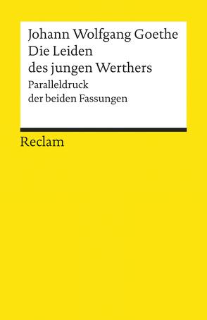 Die Leiden des jungen Werthers von Goethe,  Johann Wolfgang, Luserke,  Matthias