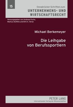 Die Leihgabe von Berufssportlern von Berkemeyer,  Michael