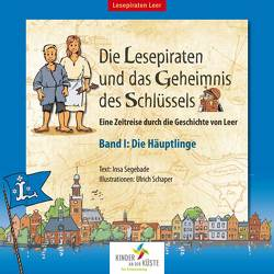 Die Lesepiraten und das Geheimnis des Schlüssels von Schaper,  Ulrich, Segebade,  Insa