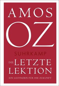 Die letzte Lektion von Birkenhauer,  Anne, Oz,  Amos