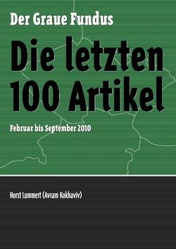 Die letzten 100 Artikel von Becker,  Alexander, Lummert,  Horst