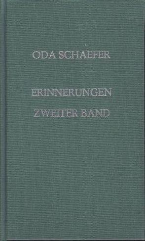 Schaefer Oda Alle Bücher Online
