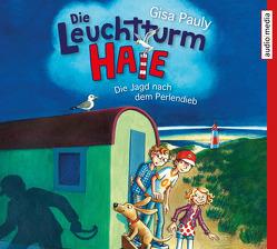 Die Leuchtturm-HAIE. Die Jagd nach dem Perlendieb von Pauly,  Gisa, Weber,  Benedikt