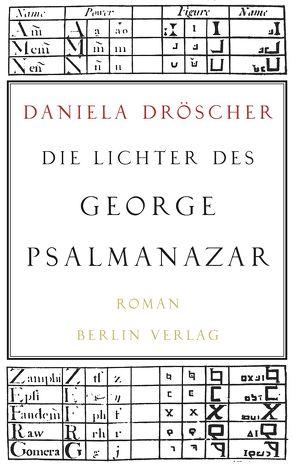 Die Lichter des George Psalmanazar von Dröscher,  Daniela