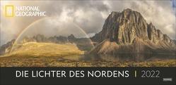 Die Lichter des Nordens Panorama National Geographic Kalender 2022 von NAT GEO