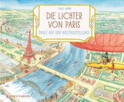 Die Lichter von Paris von Krapp,  Thilo