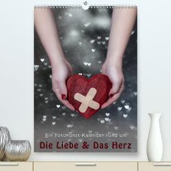 Die Liebe und Das Herz (Premium, hochwertiger DIN A2 Wandkalender 2021, Kunstdruck in Hochglanz) von Kruse,  Joana