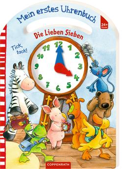 Die Lieben Sieben: Mein erstes Uhrenbuch von Völker,  Kerstin