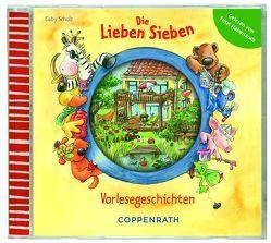 Die Lieben Sieben – Vorlesegeschichten (CD) von Haberlandt,  Fritzi, Paul Stark,  Paul, Scholz,  Gaby, Völker,  Kerstin