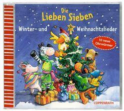 Die Lieben Sieben. Winter- und Weihnachtslieder (CD) von (Produzent),  Paul Stark, Diverse, Völker,  Kerstin