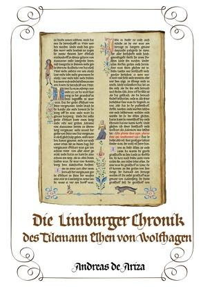 Die Limburger Chronik des Tilemann Elhen von Wolfhagen von de Ariza,  Andreas