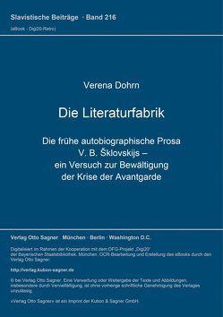 Die Literaturfabrik von Dohrn,  Verena