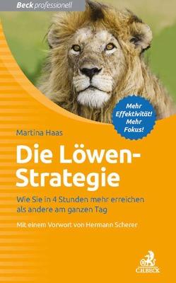 Die Löwen-Strategie von Haas,  Martina, Scherer,  Hermann