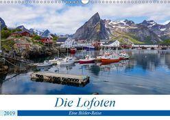 Die Lofoten – Eine Bilder-Reise (Wandkalender 2019 DIN A3 quer) von Heinrich,  Sebastian