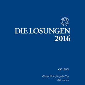 Die Losungen 2016 – Deutschland / Die Losungen 2016