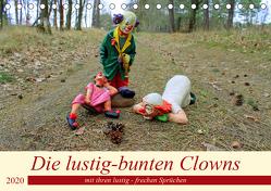 Die lustig-bunten Clowns (Tischkalender 2020 DIN A5 quer) von Junghanns,  Konstanze