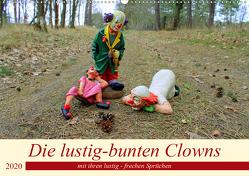 Die lustig-bunten Clowns (Wandkalender 2020 DIN A2 quer) von Junghanns,  Konstanze