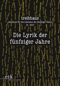 Die Lyrik der fünfziger Jahre von Häntzschel,  Günter, Hanuschek,  Sven, Leuschner,  Ulrike