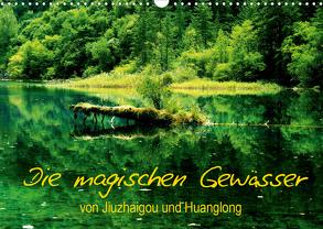 Die magischen Gewässer von Jiuzhaigou und Huanglong (Wandkalender 2020 DIN A3 quer) von Joecks,  Armin