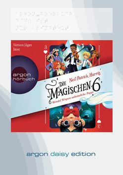 Die Magischen Sechs – Wendel Wispers unheimliche Puppe (DAISY Edition) von Harris,  Neil Patrick, Jäger,  Simon, Segerer,  Katrin