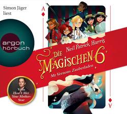 Die magischen Sechs von Harris,  Neil Patrick, Jäger,  Simon, Segerer,  Katrin