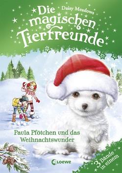 Die magischen Tierfreunde – Paula Pfötchen und das Weihnachtswunder von Margineanu,  Sandra, Meadows,  Daisy
