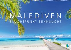Die Malediven: Fluchtpunkt Sehnsucht (Premium, hochwertiger DIN A2 Wandkalender 2020, Kunstdruck in Hochglanz) von CALVENDO