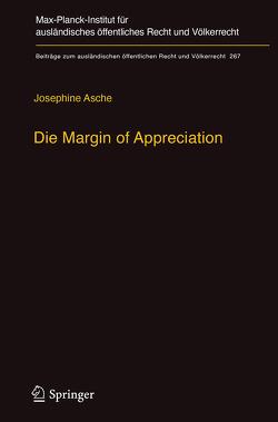Die Margin of Appreciation von Asche,  Josephine