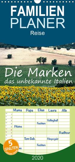 Die Marken, Impressionen aus dem unbekannten Italien – Familienplaner hoch (Wandkalender 2020 , 21 cm x 45 cm, hoch) von van Wyk - www.germanpix.net,  Anke
