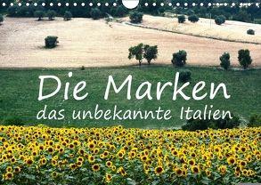Die Marken, Impressionen aus dem unbekannten Italien (Wandkalender 2018 DIN A4 quer) von van Wyk - www.germanpix.net,  Anke