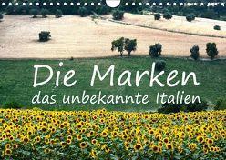 Die Marken, Impressionen aus dem unbekannten Italien (Wandkalender 2019 DIN A4 quer) von van Wyk - www.germanpix.net,  Anke