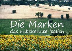 Die Marken, Impressionen aus dem unbekannten Italien (Wandkalender 2020 DIN A2 quer) von van Wyk - www.germanpix.net,  Anke