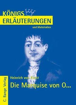 Die Marquise von O… von Heinrich von Kleist. von Jürgens,  Dirk, Kleist,  Heinrich von
