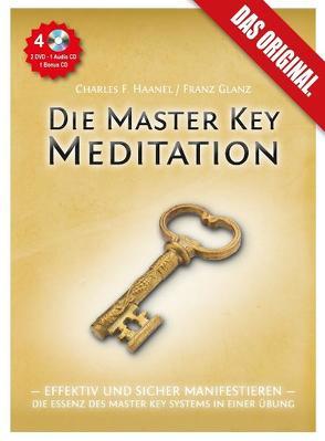 Die Master Key Meditation (2 Video-DVDs, 1 Audio-CD, 40seitiges Booklet, 1 Bonus-CD) von Adam,  Edith, Glanz,  Franz, Haanel,  Charles Francis, voice in time,  Hamburg