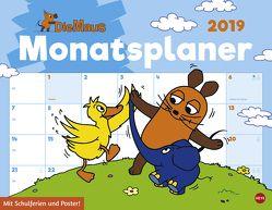 Die Maus Monatsplaner – Kalender 2019 von Heye