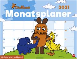 Die Maus Monatsplaner Kalender 2021 von Heye