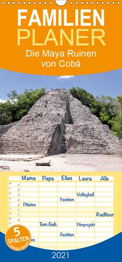 Die Maya Ruinen von Cobá – Familienplaner hoch (Wandkalender 2021 , 21 cm x 45 cm, hoch) von Colista,  Christian