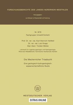 Die Mechernicher Triasbucht von Heitfeld,  Karl-Heinrich