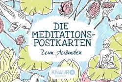 Die Meditations-Postkarten zum Ausmalen von Zimmer,  Melanie