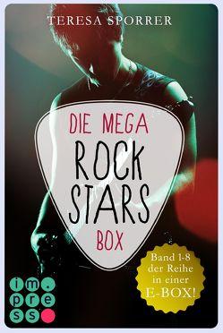 Die MEGA Rockstars-E-Box: Band 1-8 der Bestseller-Reihe (Die Rockstar-Reihe ) von Sporrer,  Teresa