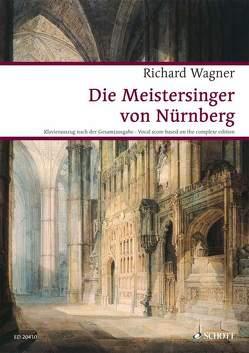 Die Meistersinger von Nürnberg von Voss,  Egon, Wagner,  Richard