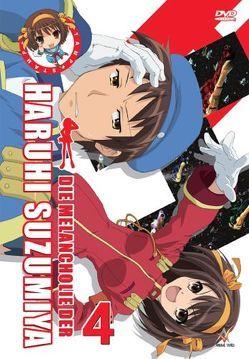 Die Melancholie der Haruhi Suzumiya – DVD Vol. 4 von Ishihara,  Tatsuya