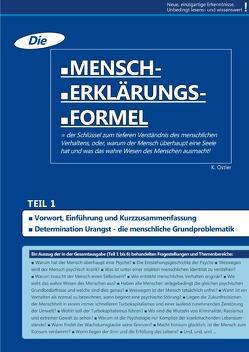 Die Mensch-Erklärungsformel (Teil 1) von Ostler,  K.